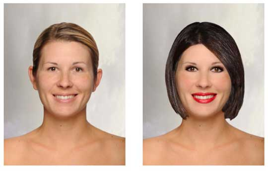 Makeover from taaz.com
