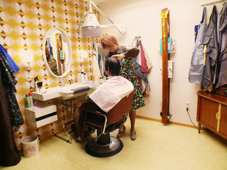 Vorwärtswäsche Forward Wash Salon Martina