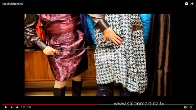 Video Raschelabend im Salon(3)