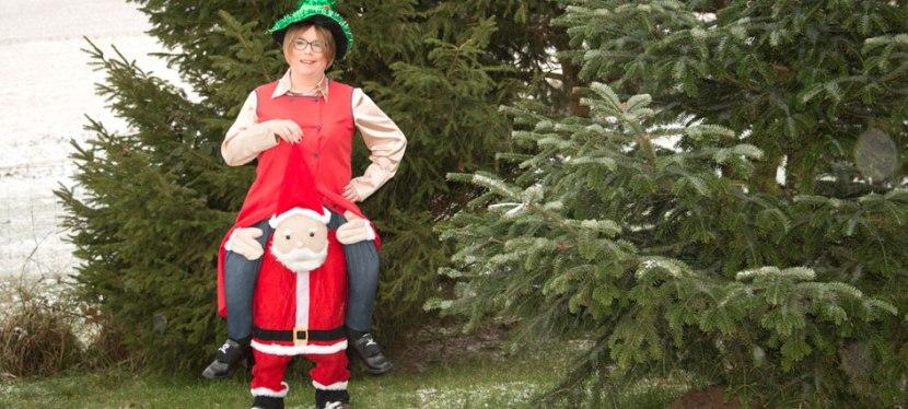 Weihnachtsbild 2017 – hinter den Kulissen(2)